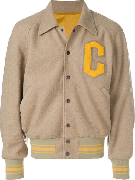 Cmmn Swdn Dixon woven reversible baseball jacket