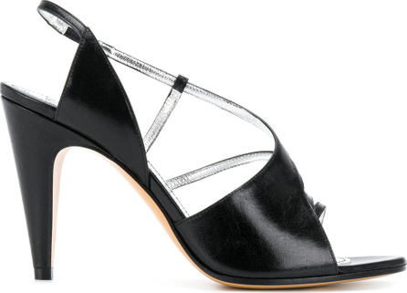 Givenchy Asymmetric slingback strap sandals