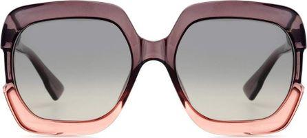 Dior Gaia oversized sunglasses