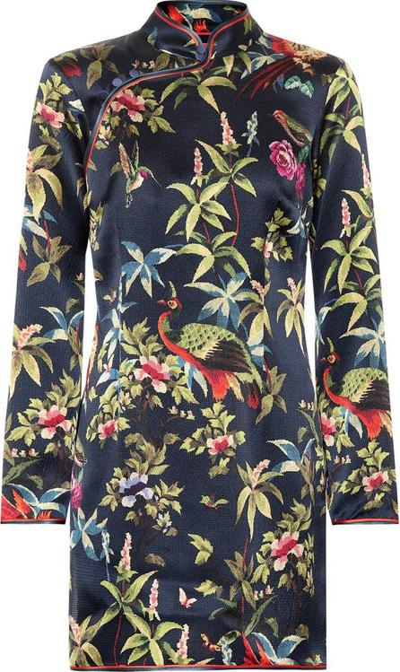 F.R.S For Restless Sleepers Menezio printed silk minidress