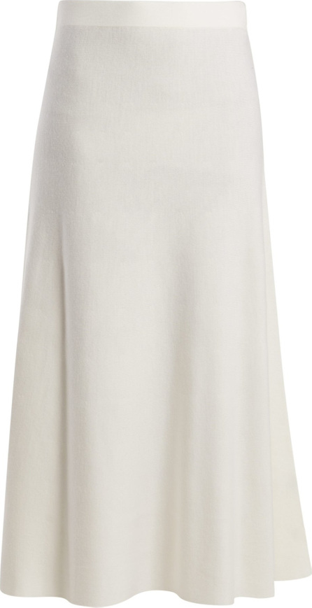 Gabriela Hearst Freddie wool-blend midi skirt