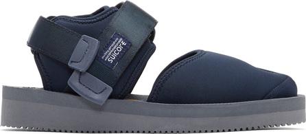 Suicoke Navy Bita-V Sandals