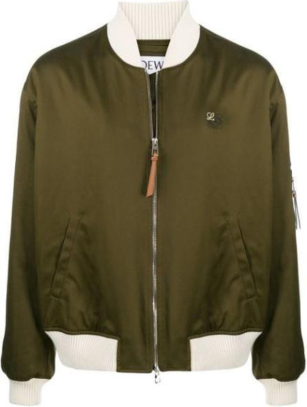 LOEWE Two-tone bomber jacket