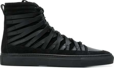 Damir Doma Strappy hi-top sneakers