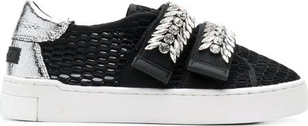 Suecomma Bonnie Jewel ornament mesh sneakers