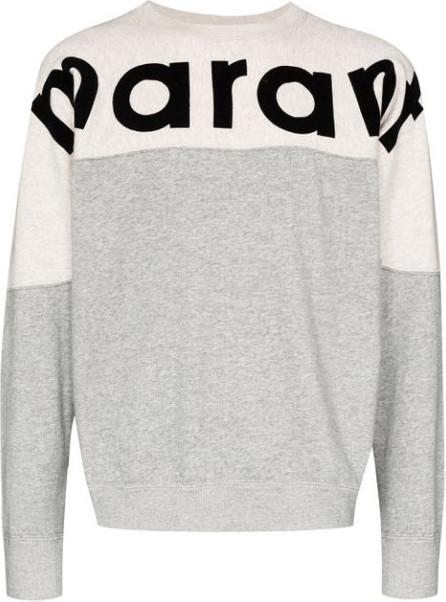 Isabel Marant Howley logo sweatshirt