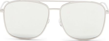BLANC & ECLARE 'Geneva Large' metal aviator mirror sunglasses