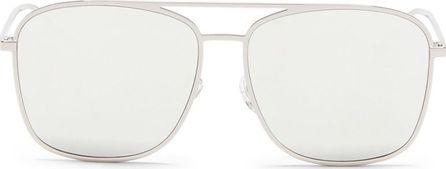 BLANC & ECLARE 'Geneva Large' metal aviator mirror sunglasses