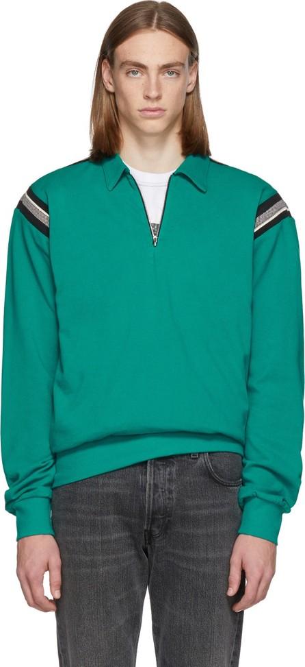Enfants Riches Deprimes Green Half-Zip Polo