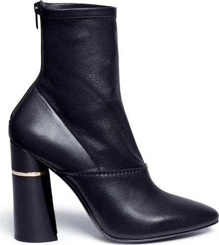3.1 Phillip Lim 'Kyoto' box calf leather zip poots
