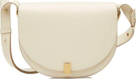 Victoria Beckham Half Moon Box Leather Shoulder Bag