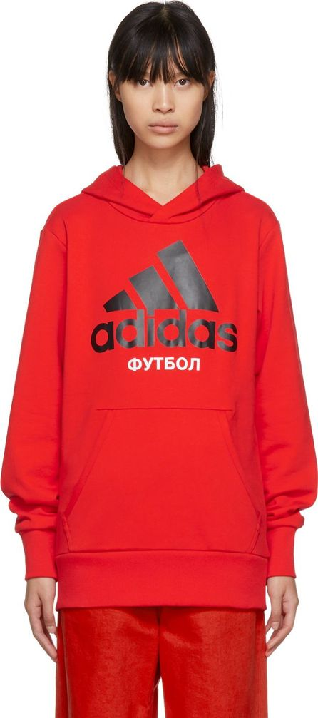 Gosha Rubchinskiy Red adidas Originals Edition Hoodie