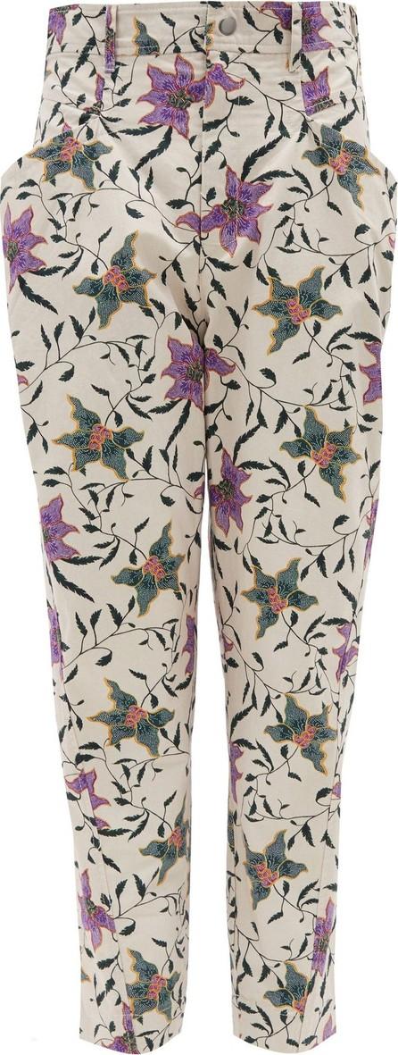 Isabel Marant Gubaia floral-print cotton trousers