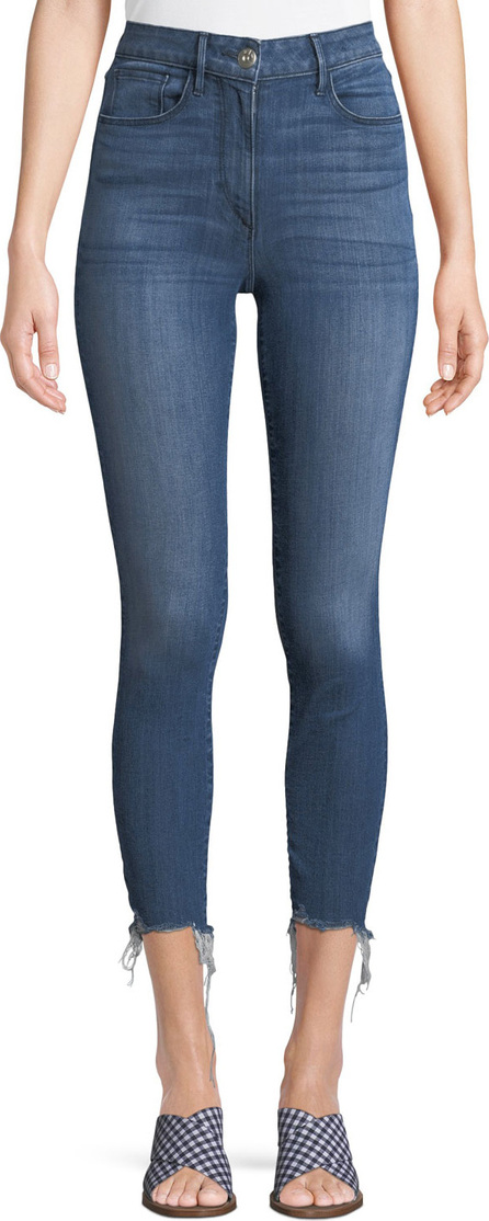 3X1 W3 High-Rise Skinny Crop Jeans