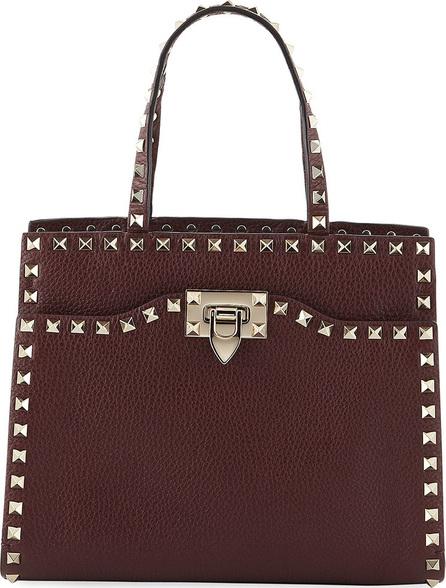 Valentino Rockstud Small Vitello Leather Tote Bag