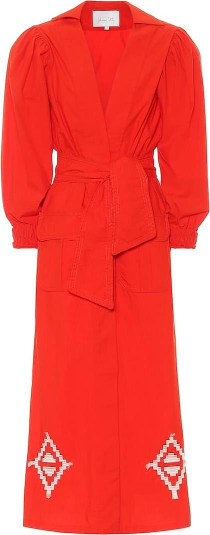 Johanna Ortiz Amazon Flavor cotton midi dress