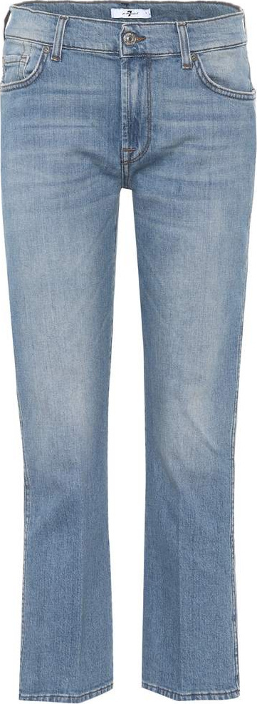 7 For All Mankind Cropped Boot jeans