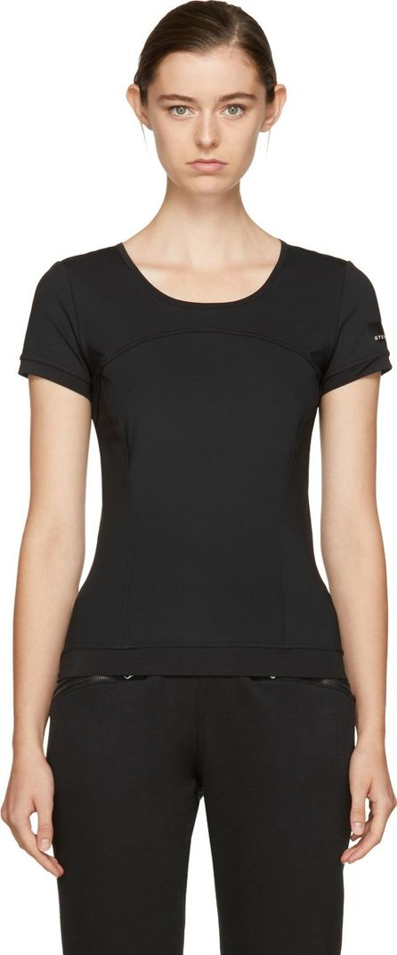 Adidas By Stella McCartney Black 'The Perfect' T-Shirt