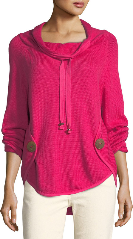 Neon Buddha Rivington Cowl-Neck Sweater