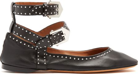 Givenchy Stud-embellished leather flats