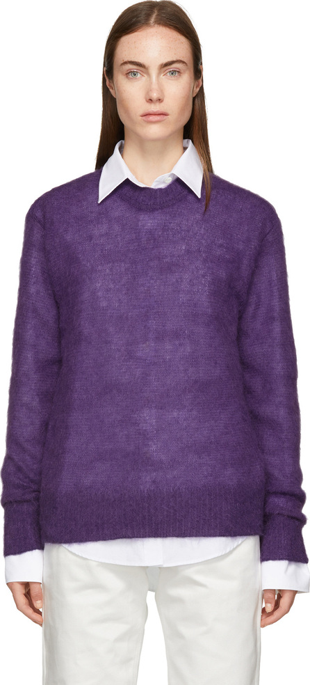 Joseph Purple Mohair & Wool Sweater