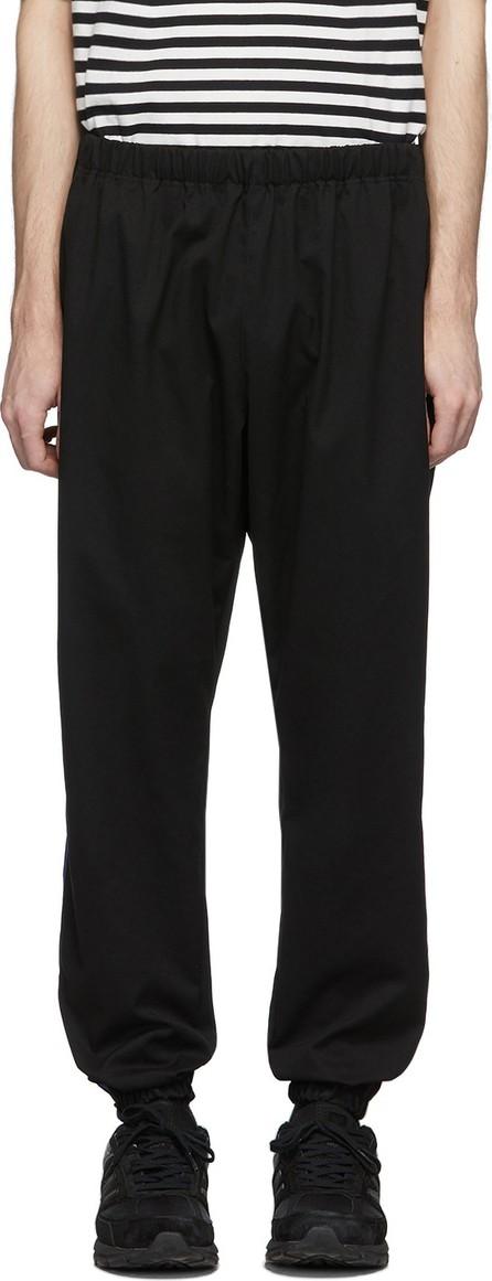 Needles Black & Purple Zipped Lounge Pants