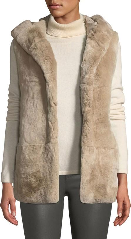 Belle Fare Hooded Fur Vest