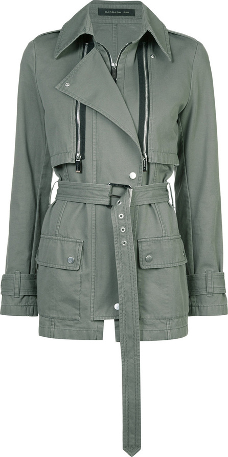 Barbara Bui Short trench jacket