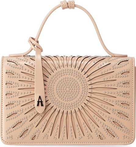 Alaïa Franca XS Studded Crossbody Bag