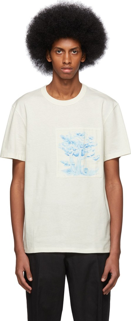 AMI Off-White Patch T-Shirt