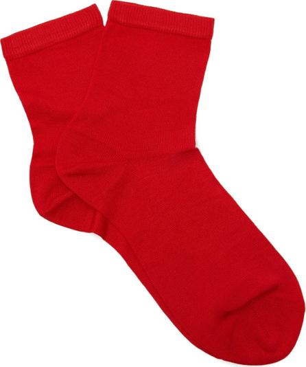 Maria La Rosa Silk-blend ankle socks