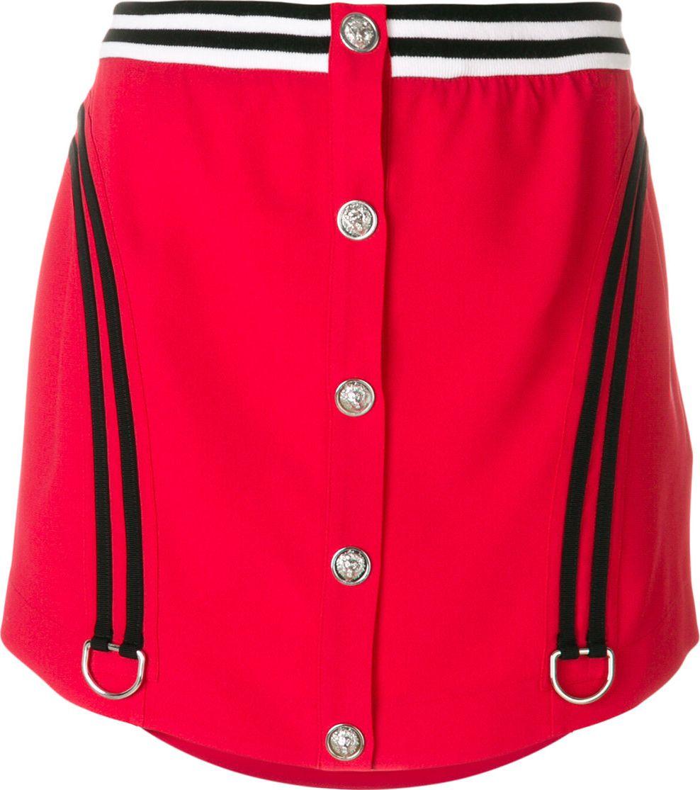 Versus Versace - Varsity mini skirt