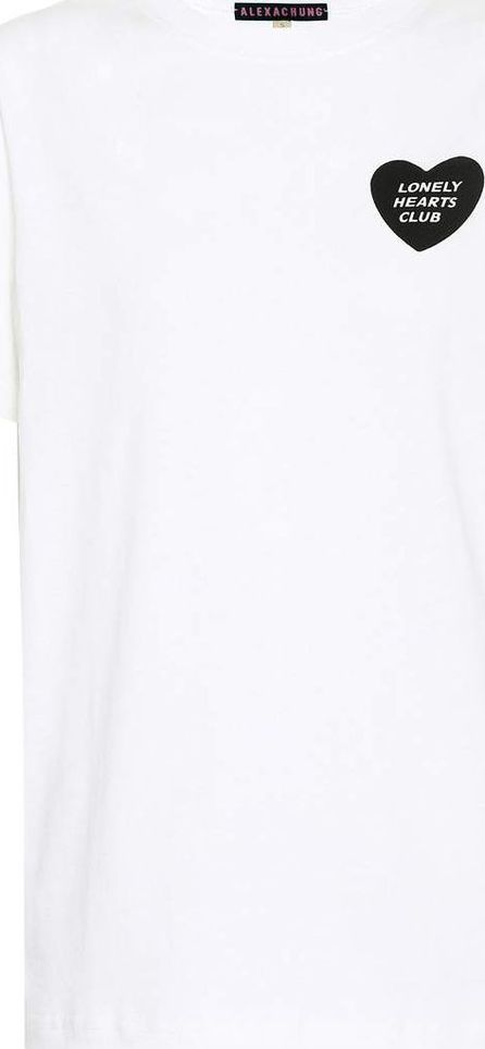 Alexachung Printed cotton T-shirt