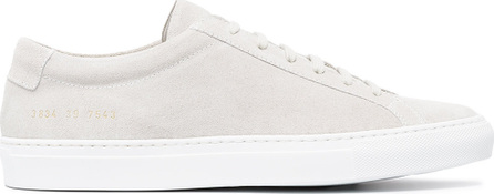 Common Projects Grey Original Achilles low suede sneakers