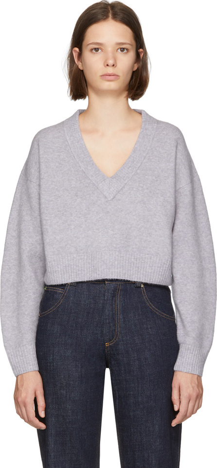 3.1 Phillip Lim Purple Lofty V-Neck Sweater