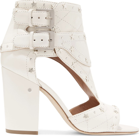 Laurence Dacade Cutout studded leather sandals