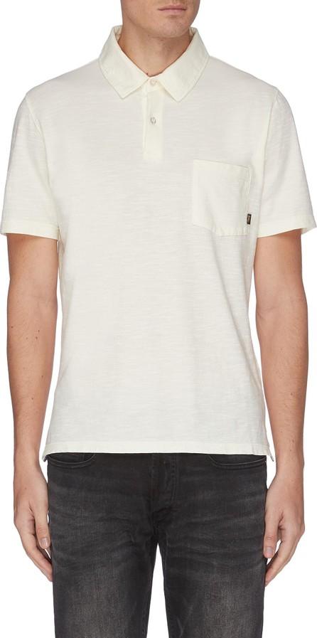 Denham 'Lloyd' chest pocket cotton polo shirt