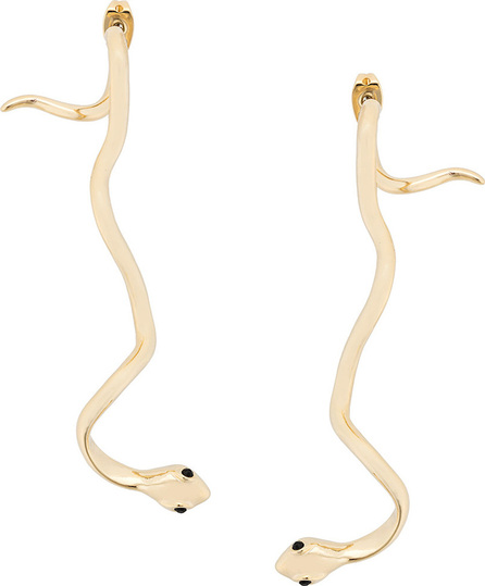Federica Tosi Drop snake earrings