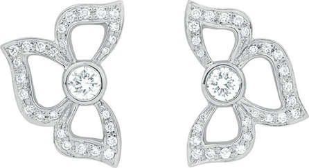 Carelle Florette Pavé Diamond Stud Earrings