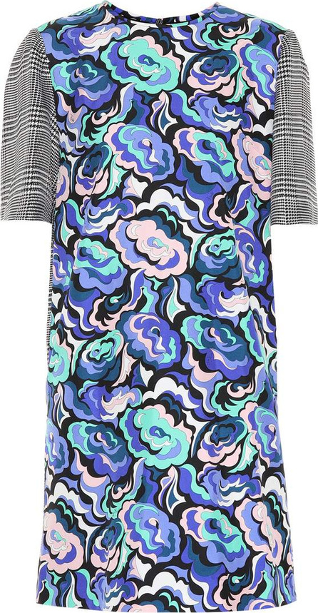 Emilio Pucci Printed silk-blend minidress