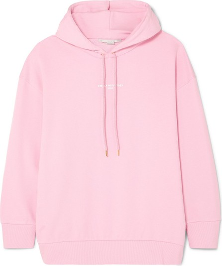 Stella McCartney + NET SUSTAIN oversized printed organic cotton-jersey hoodie