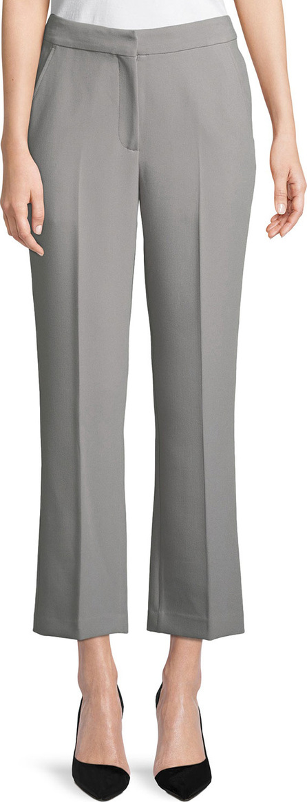 Emporio Armani Straight-Leg Cropped Pants