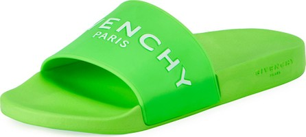 Givenchy Men's Logo Pool Slide Sandal