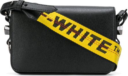 Off White Mini Binder Clip bag