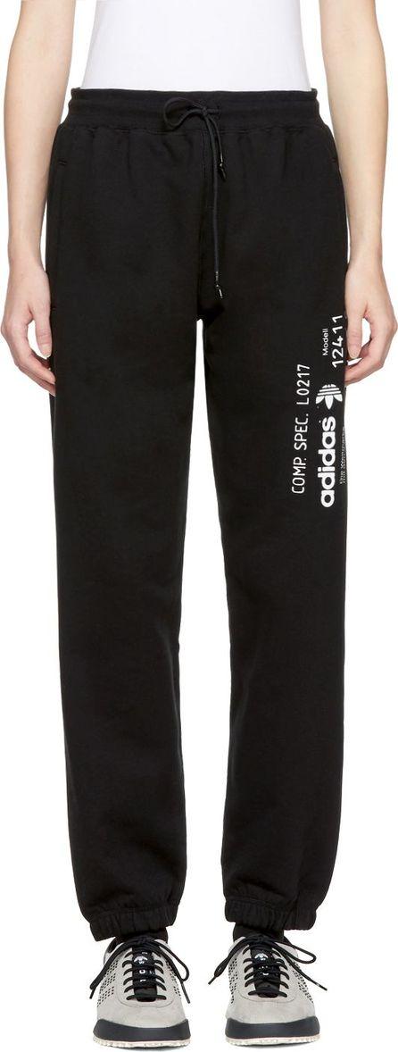 Adidas Originals by Alexander Wang Black Graphic Jog Pants