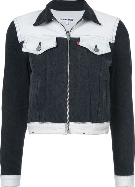 RE/DONE Cropped fitted jacket