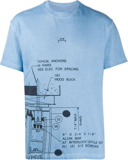 A-Cold-Wall* Diagram logo print T-shirt