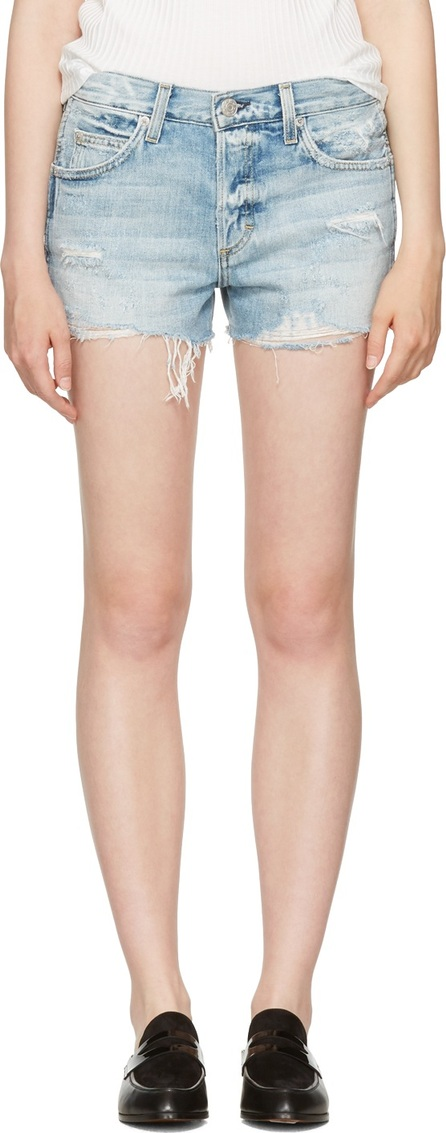 AMO Blue Denim Tomboy Shorts