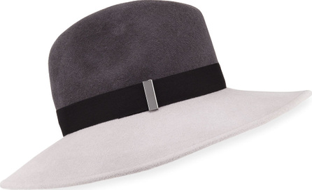 Gigi Burris Requiem Wool Wide-Brim Fedora Hat