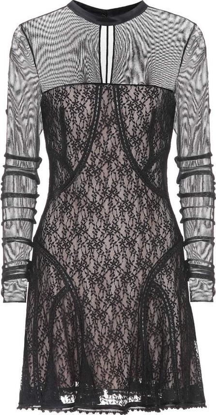 Alexander Wang Mesh and lace minidress